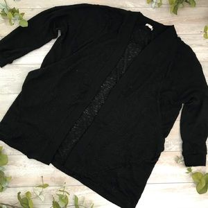 Silence + Noise Sheer Cardigan Sweater